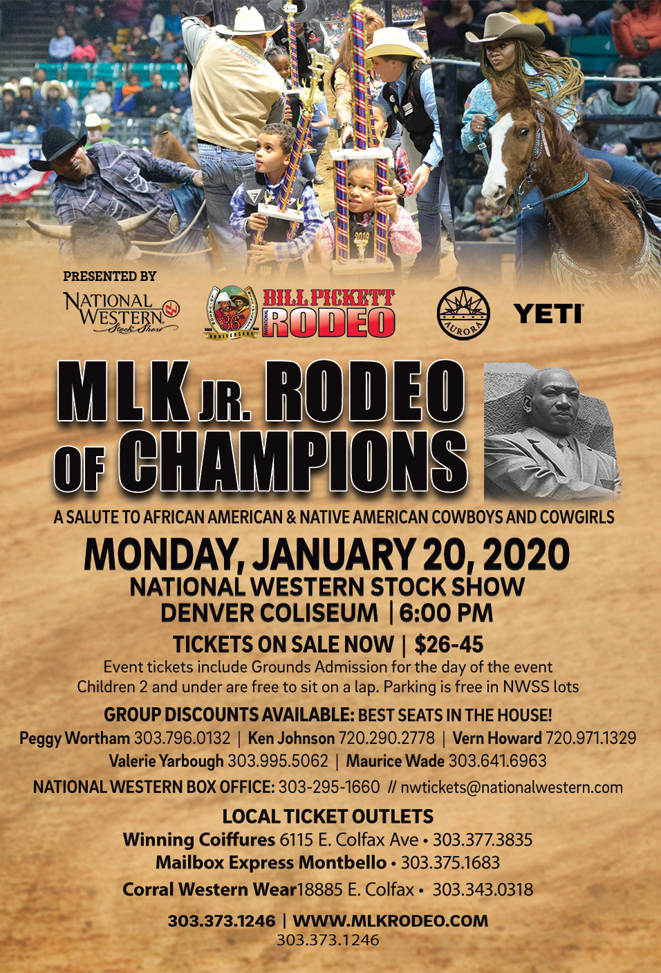 Denver Mlk Jr Rodeo Tickets